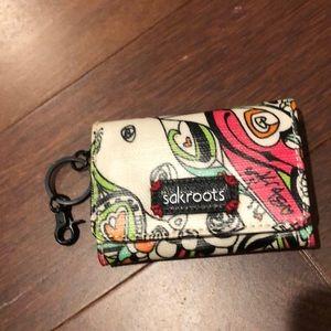 NWOT Sakroots card/key ring